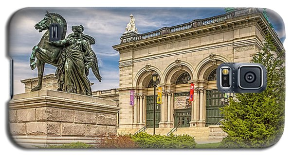 Galaxy S5 Case featuring the photograph Memorial Hall - Fairmount Park by Nick Zelinsky