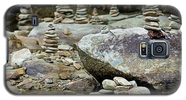 Memorial Stacked Stones Galaxy S5 Case