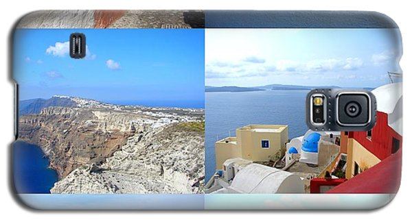 Galaxy S5 Case featuring the photograph Memories From Santorini by Ana Maria Edulescu