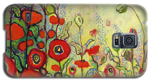 Impressionism Galaxy S5 Case - Memories Of Grandmother's Garden by Jennifer Lommers
