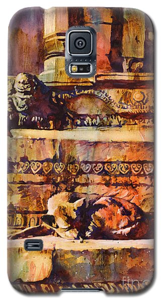 Memories Of Happier Times- Nepal Galaxy S5 Case