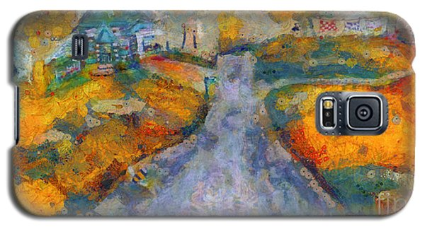 Memories Of Home In Autumn Galaxy S5 Case