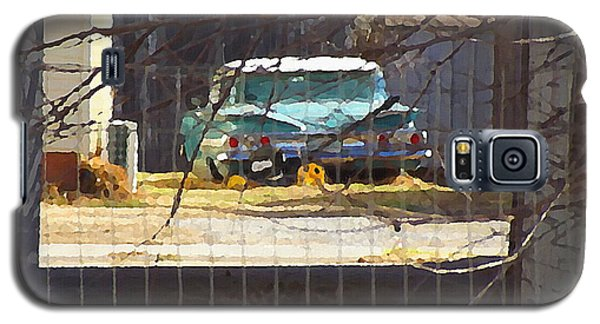 Memories Of Old Blue, A Car In Shantytown.  Galaxy S5 Case