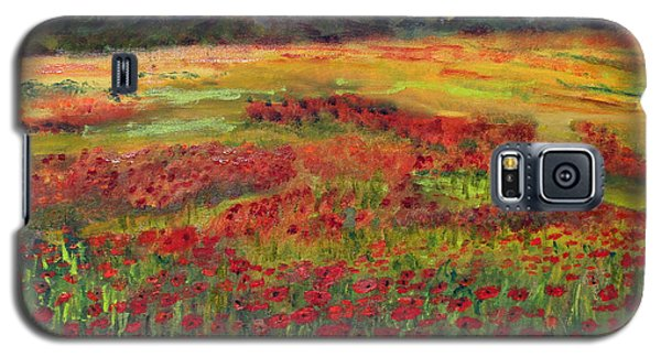 Galaxy S5 Case featuring the painting Memories Of Provence by Michael Helfen