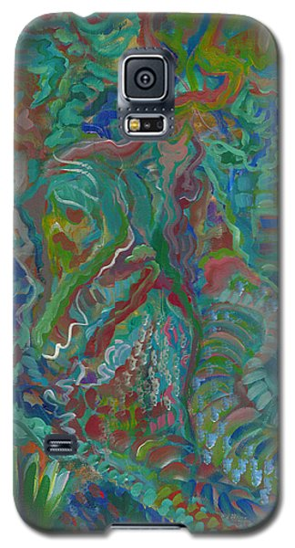 Galaxy S5 Case featuring the painting Memories Of The Wild by John Keaton