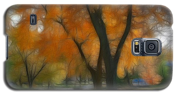 Memory Of An Autumn Day Galaxy S5 Case by Lyle Hatch