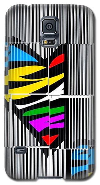 Memory Popart Heart By Nico Bielow  Galaxy S5 Case