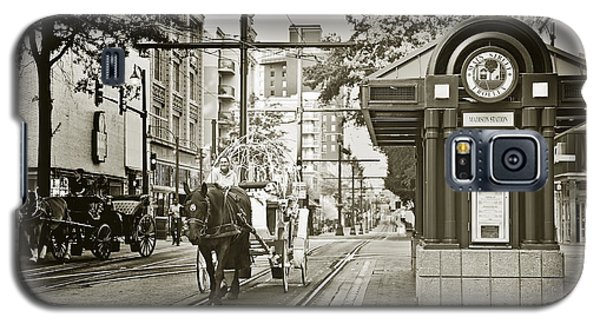 Memphis Carriage Galaxy S5 Case by Liz Leyden