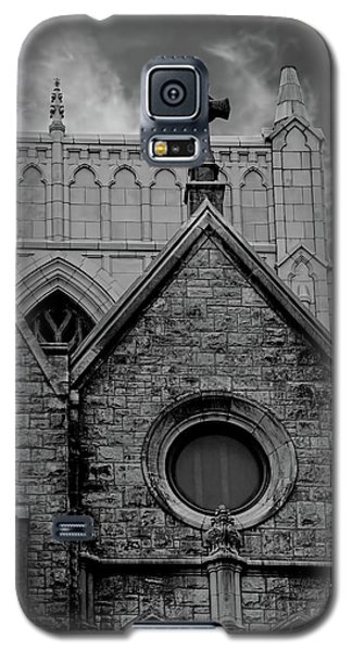 Memphis Cross In The Clouds Bw Galaxy S5 Case