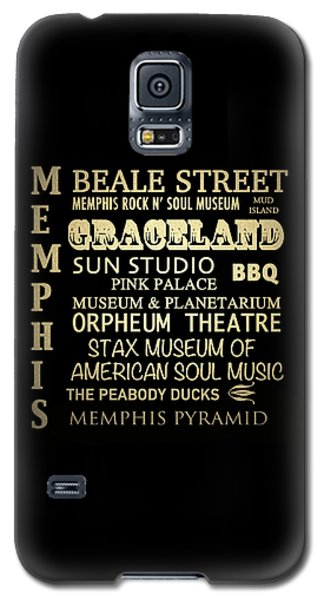 Memphis Tennessee Famous Landmarks Galaxy S5 Case