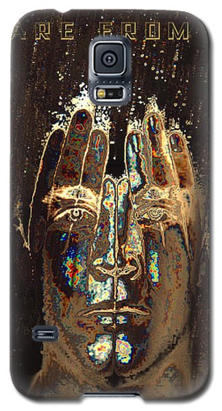 Men Are From Mars Gold Galaxy S5 Case by ISAW Gallery