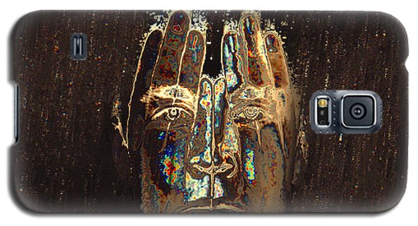 Galaxy S5 Case featuring the digital art Men Are From Mars by ISAW Company
