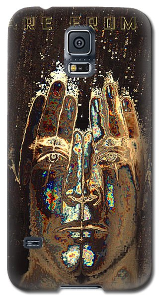 Men Are From Mars Gold Galaxy S5 Case