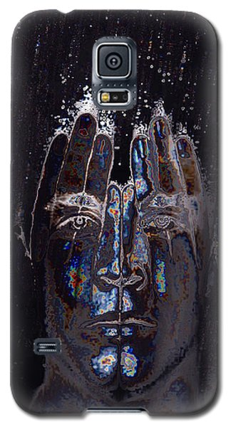 Men Are From Mars Silver Galaxy S5 Case by ISAW Gallery