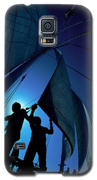 Men At Work Galaxy S5 Case