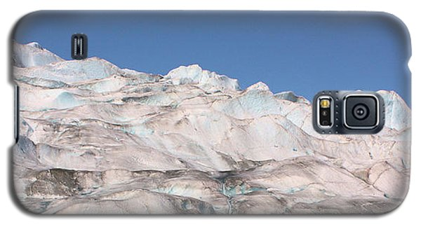 Galaxy S5 Case featuring the photograph Mendenhall Glacier Panoramic by Kristin Elmquist