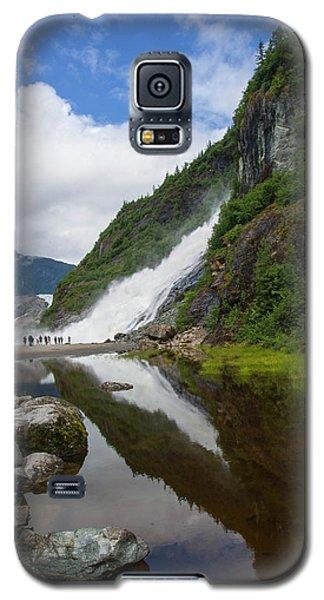 Mendenhall Waterfall Galaxy S5 Case