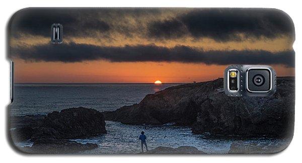 Mendocino Sunset Galaxy S5 Case
