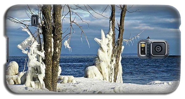 Menominee Lighthouse Ice Sculptures Galaxy S5 Case
