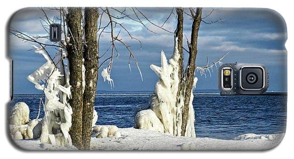 Menominee Lighthouse Ice Sculptures Galaxy S5 Case