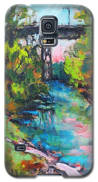 Menominee Viaduct Galaxy S5 Case by Les Leffingwell