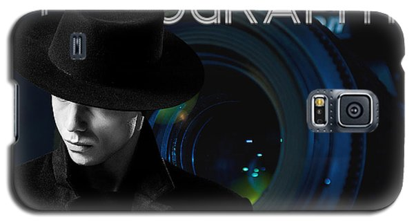 Galaxy S5 Case featuring the digital art Mens Fashion Photography Are You Photogenic by ISAW Company