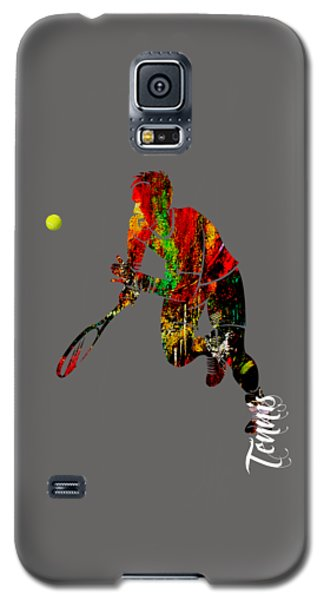 Mens Tennis Collection Galaxy S5 Case by Marvin Blaine