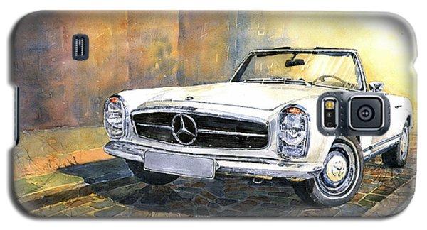 Car Galaxy S5 Case - Mercedes Benz W113 280 Sl Pagoda Front by Yuriy Shevchuk