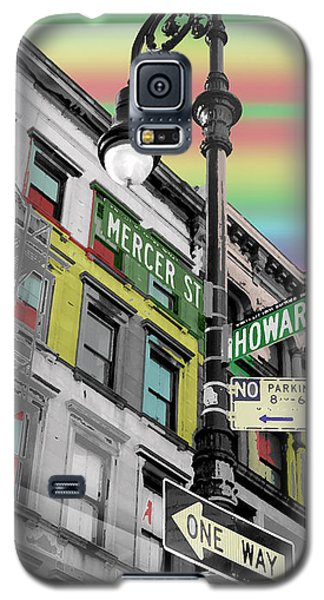 Mercer St Galaxy S5 Case by Christopher Woods