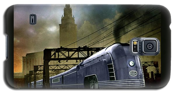 Galaxy S5 Case featuring the photograph Mercury Train by Steven Agius