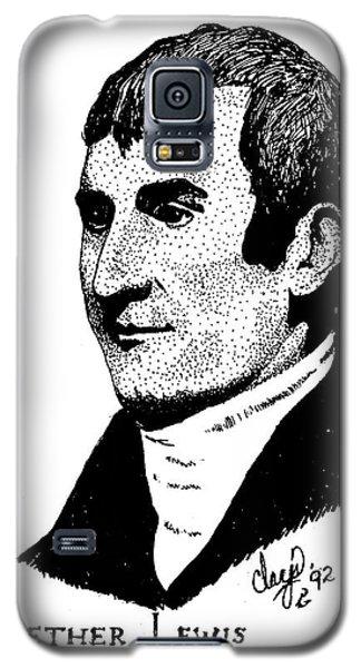 Meriwether Lewis Galaxy S5 Case