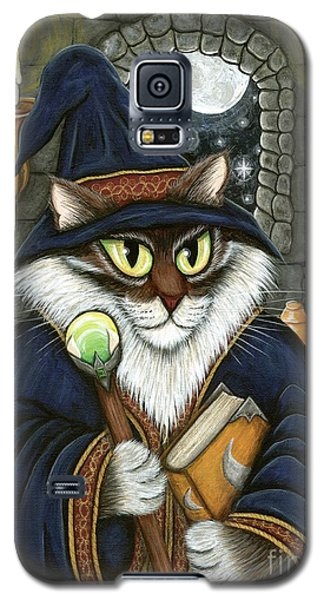 Merlin The Magician Cat Galaxy S5 Case