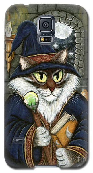 Merlin The Magician Cat Galaxy S5 Case