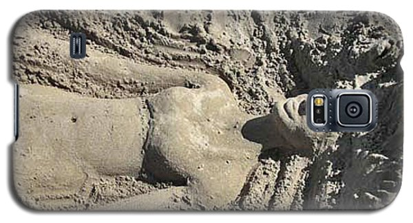 Galaxy S5 Case featuring the photograph Mermaid Of The Sand by Jani Freimann