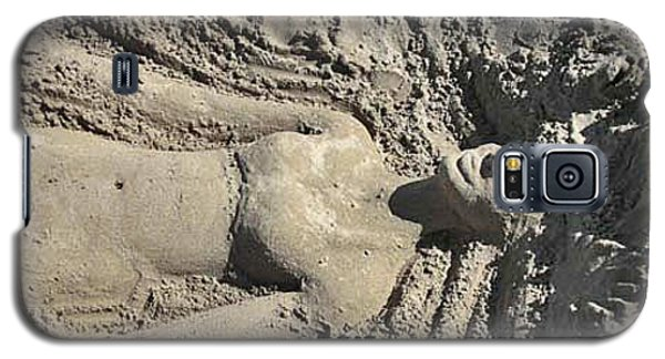 Mermaid Of The Sand Galaxy S5 Case by Jani Freimann