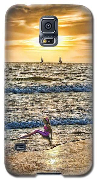 Galaxy S5 Case featuring the photograph Mermaid Of Venice by Michael Cleere