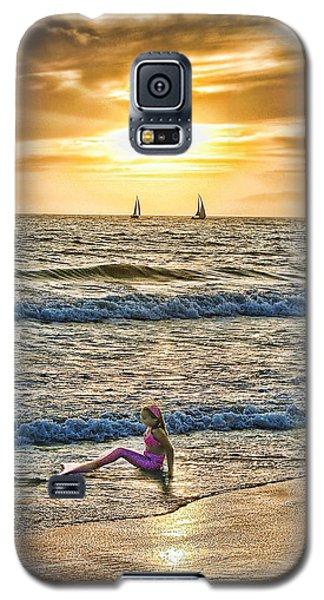 Mermaid Of Venice Galaxy S5 Case by Michael Cleere
