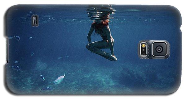 Mermaid Pose Galaxy S5 Case