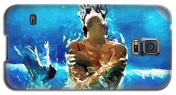 Mermaid Under The Moonlight Galaxy S5 Case
