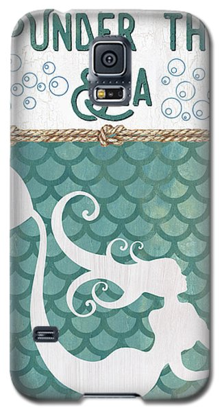 Fairy Galaxy S5 Case - Mermaid Waves 2 by Debbie DeWitt
