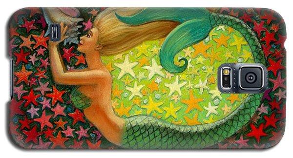 Mermaid's Circle Galaxy S5 Case by Sue Halstenberg