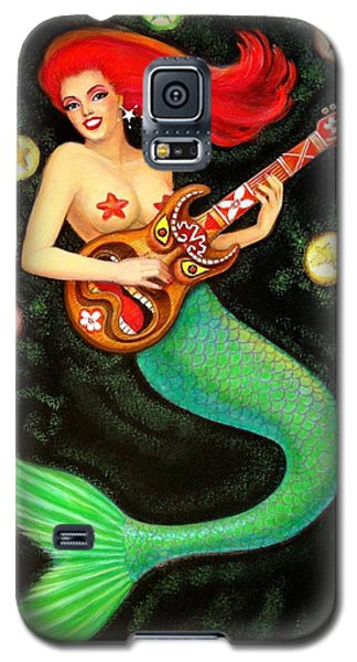 Mermaids Rock Tiki Guitar Galaxy S5 Case