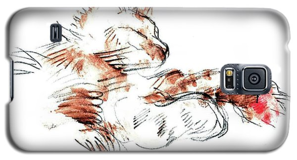 Merph Chillin' - Pet Portrait Galaxy S5 Case by Carolyn Weltman