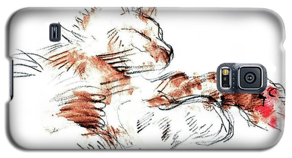 Merph Chillin' - Pet Portrait Galaxy S5 Case