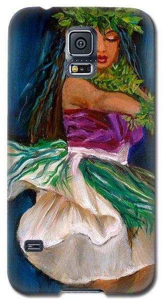 Merrie Monarch Hula Galaxy S5 Case by Jenny Lee