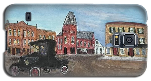 Old New England Town Galaxy S5 Case