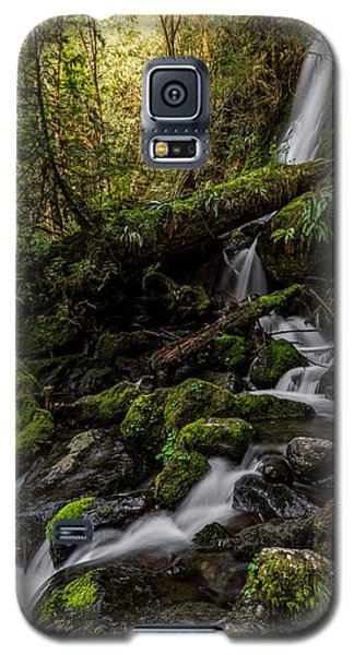 Galaxy S5 Case featuring the photograph Merriman Falls by David Stine