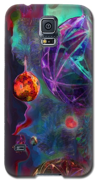 Merry And Bright Holidays Galaxy S5 Case