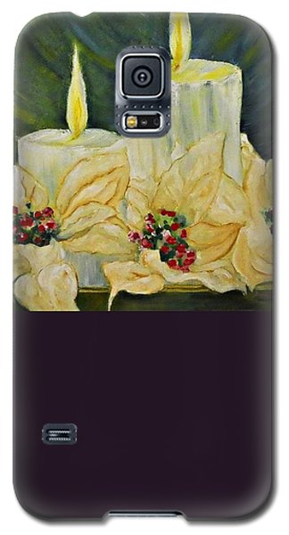 Our Lady And Child Jesus Galaxy S5 Case by AmaS Art