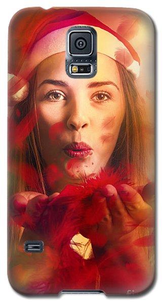 Merry Christmas Elf Galaxy S5 Case